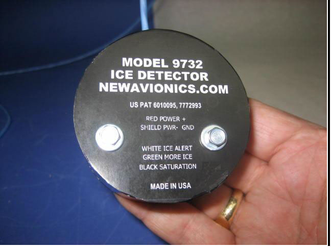 model 9732 ice detector